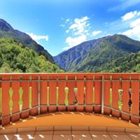 Vista dal balcone camera Charme